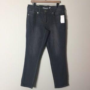 Seven7 | Binary Gray Skinny Jeans Size 14